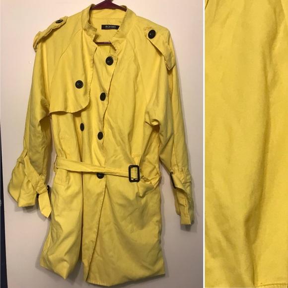 Romwe Jackets Coats Yellow Coraline Inspired Jacket Poshmark